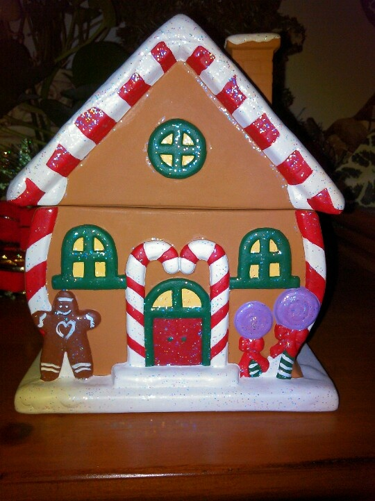Ceramic Gingerbread House Pottery Painting Holiday