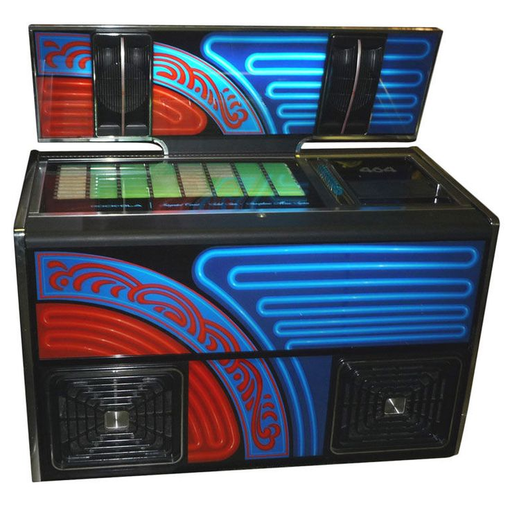 Rock-Ola 464 Working 1970's Disco Jukebox | From a unique collection of antique and modern decorative objects at http://www.1stdibs.com/furniture/more-furniture-collectibles/decorative-objects/