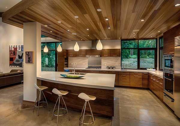 Modern mountain home in the high Sierras: Flight House
