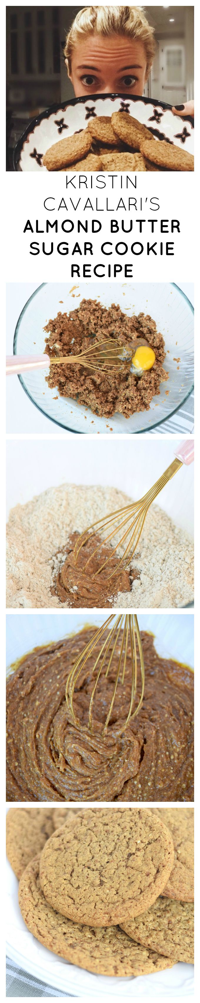Kristin Cavallari's Almond Butter Sugar Cookie Recipe (Healthy Christmas Recipes)