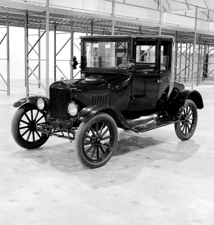 """Technology. The Ford T/ Doctor's Coupe, """"As"""