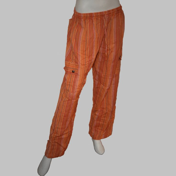 Striped Nepalese Long Pants