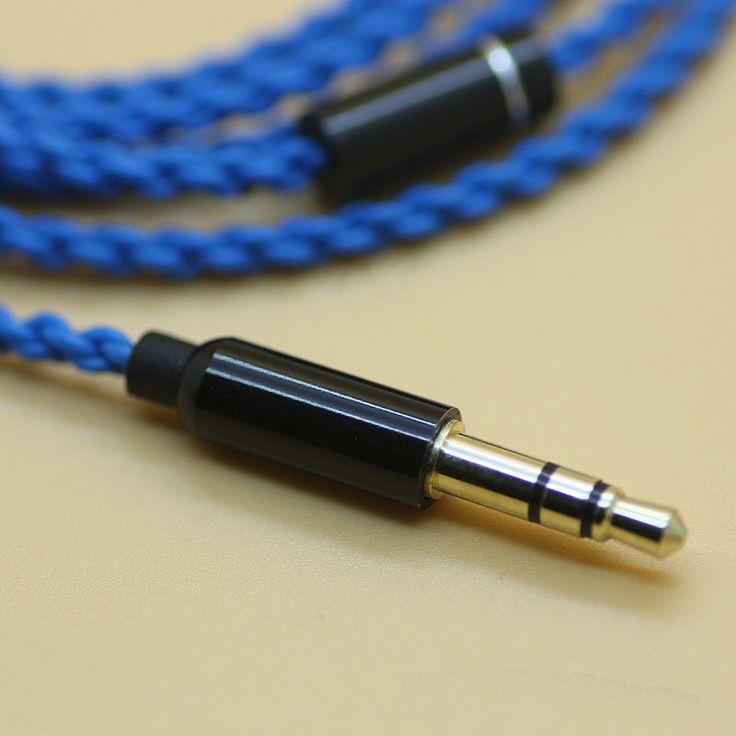 Diy ie800 auriculares cable cables de cobre del solo cristal, 14 core X4 cable de alta gama de auriculares