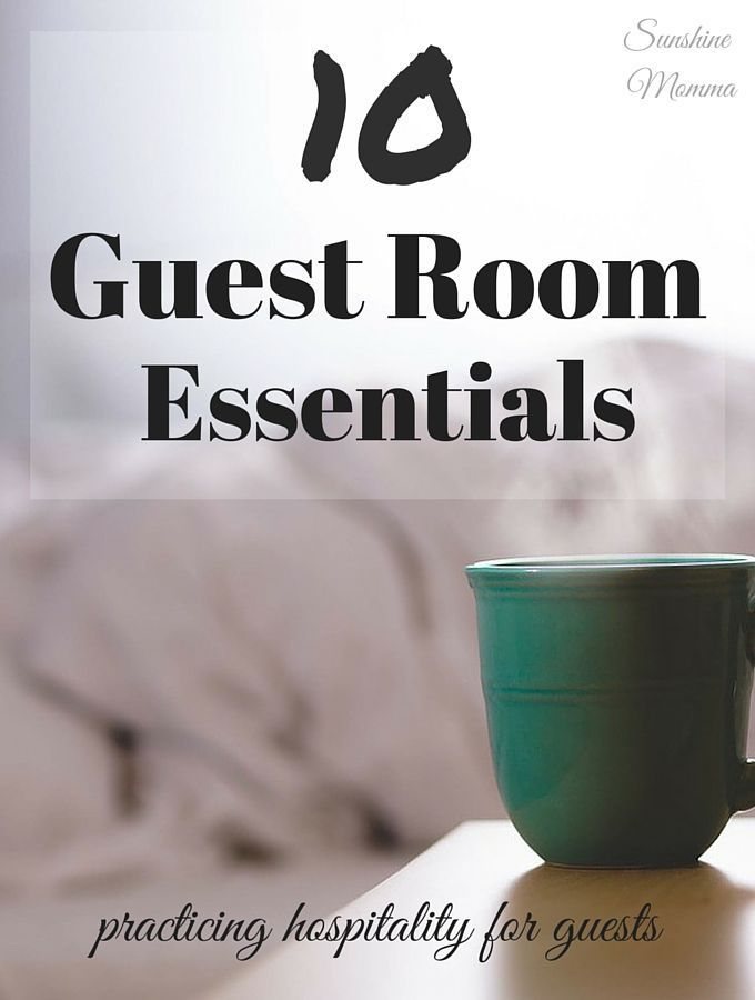 These ten tips are essential for hosting someone in your home. Your guests will thank you for it!
