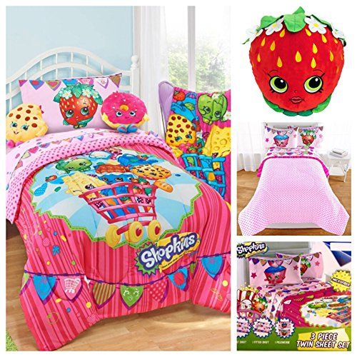 Shopkins Bedding and Comforters/Sheets ON SALE! - SPKFans.com
