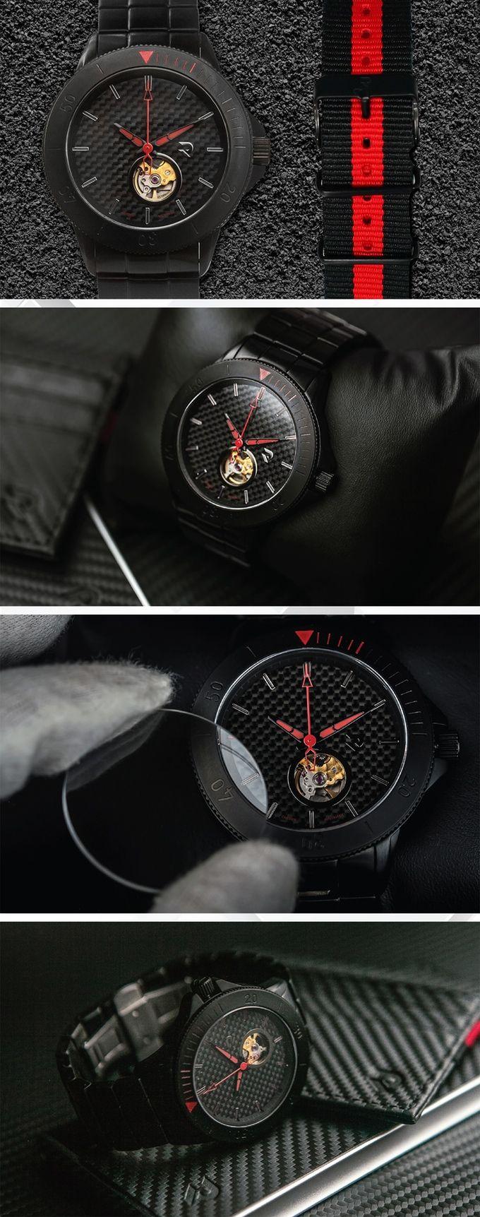 Carbon Auto Skel - Quattro Black/Red