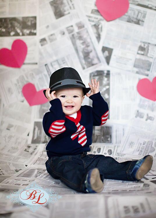 baby boy Valentine picture