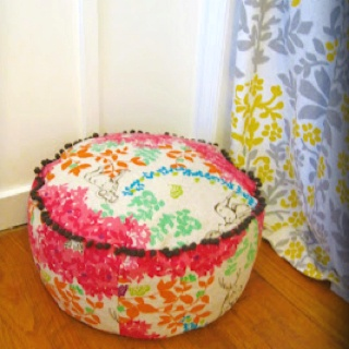 72 best Pouf images on Pinterest Cushions Poufs and Crafts