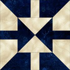 Generate quilt block patterns; several free patterns--Twin Darts