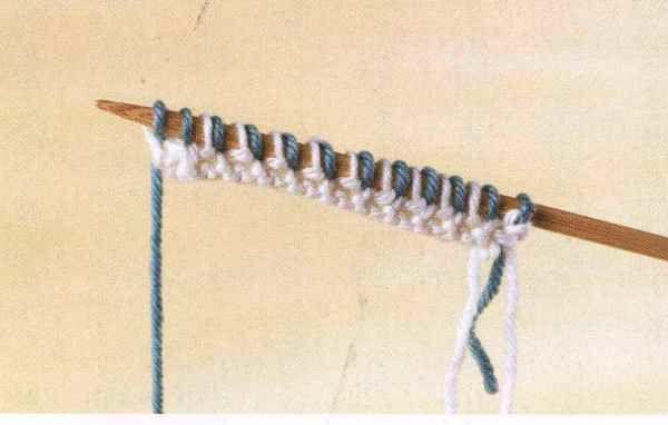 Мастер класс по вязанию спицами эффектного узора «тканная» - рисовая вязка