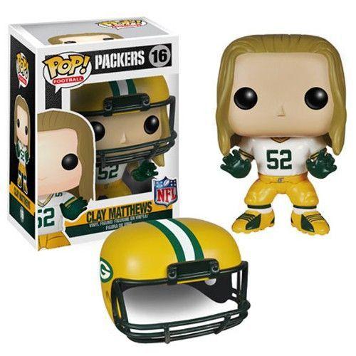 NFL Pop! Vinyl Figure Clay Matthews [Green Bay Packers]