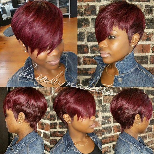 43 Best Burgundy Hair Color 99j Images On Pinterest