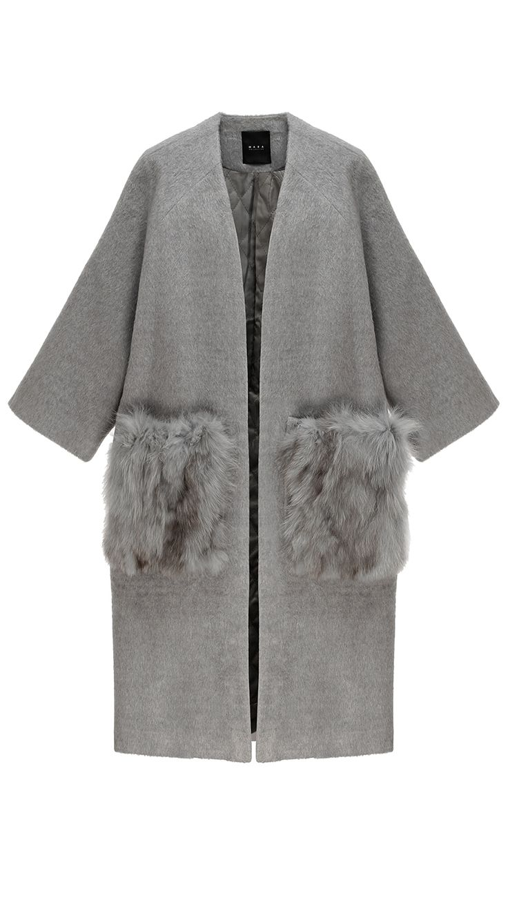 Sophy Fox Fur Coat | LOÉIL |