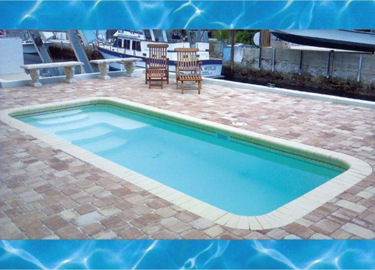 Captivating Ocho Rios   Small Fiberglass Pool 8x18
