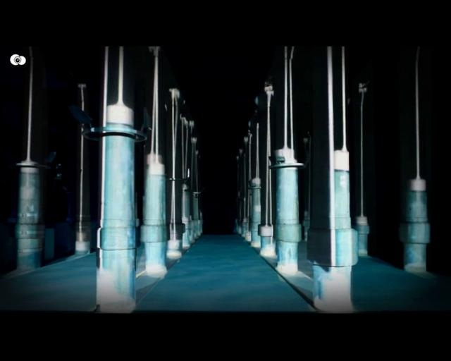 NetWork   Istabul   Indoor Video Projection Mapping by NOTA BENE Visual. Indoor Projection Mapping