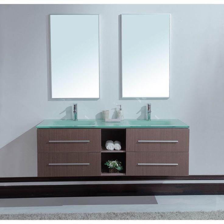 Bathroom Vanities Ikea Calypso 60 Inch Modern Double Sink