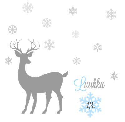 Äiti ja melukylän lapset: Luukku 13 | Onni blogien joulukalenteri : Piparitalokylä