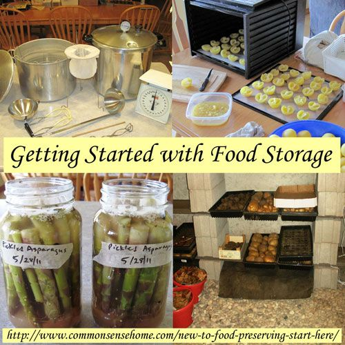 New to Food Preserving - Start Here - Home Food Preservation Basics