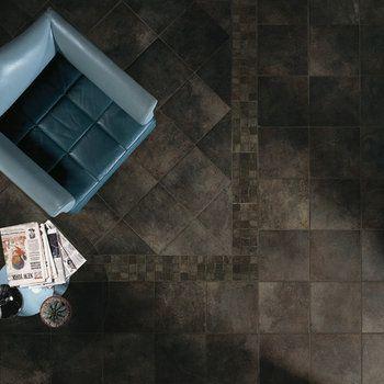 Stunning Domus Range F Floor Tiles in Bianco, Cotto, Nero, Sabbia.