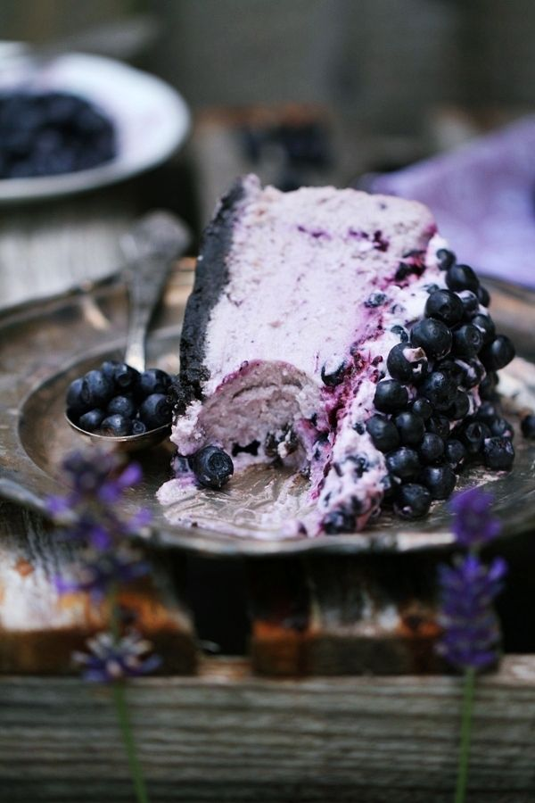 blueberry cheesecake in polish but has google translate