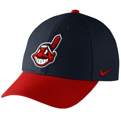 Cleveland Indians Nike Men's Wool Classic Adjustable Dri-Fit Hat - Navy