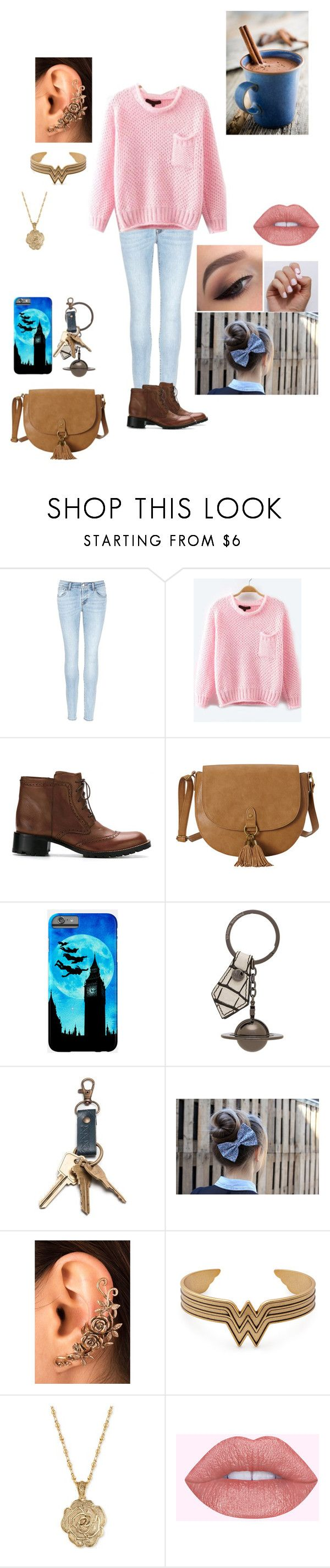 """First date"" by elisa-moralespv ❤ liked on Polyvore featuring J Brand, Sarah Chofakian, T-shirt & Jeans, Vivienne Westwood, 2028 and SoGloss"