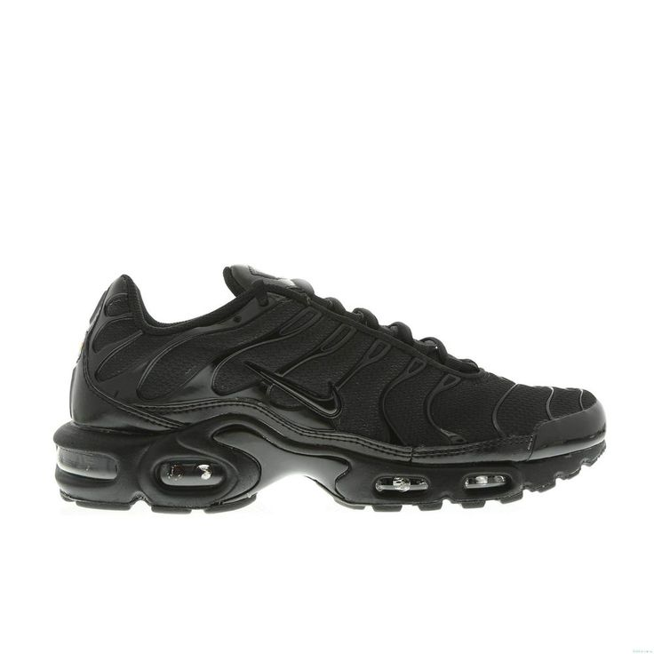NIKE AIR MAX PLUS TUNED TN 1 ALL BLACK MEN 604133-050 MUTLIPLE SIZE NEW BOX                                                                                                                                                                                 More