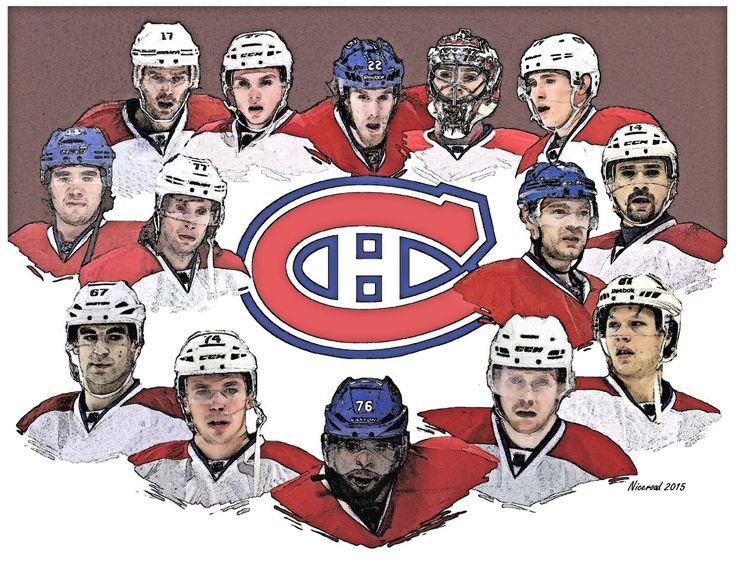 Les Héros du Canadiens en Séries 2015