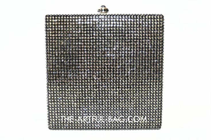The-Artful-Bag.com - The Equal Swarovski Square Clutch Bag, £429.00 (http://www.the-artful-bag.com/the-equal-swarovski-square-clutch-bag/)