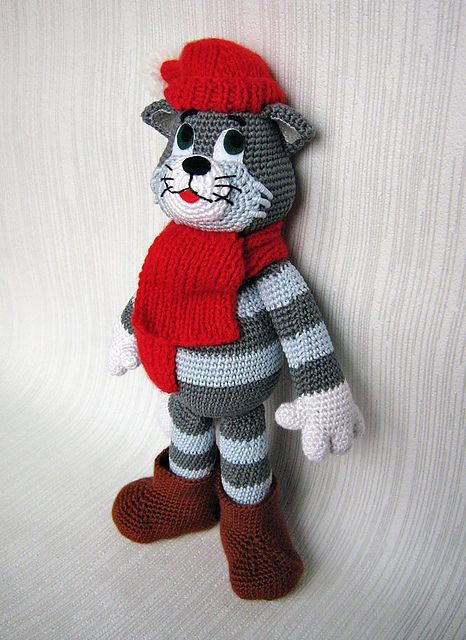 Ravelry Amigurumi Cat : http://www.ravelry.com/projects/666metasoma666/matroskin ...