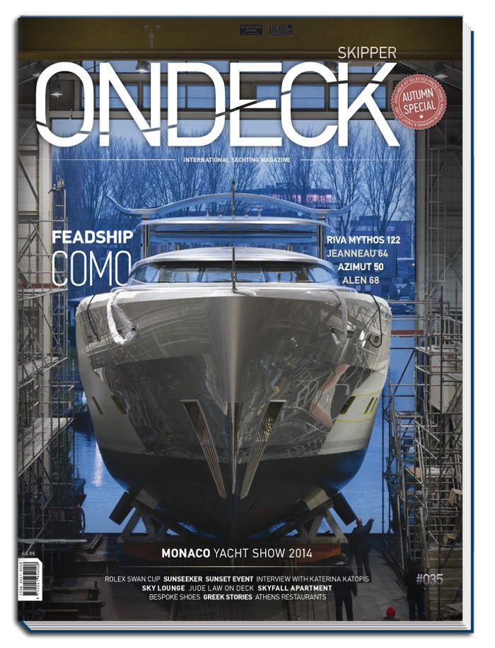 Skipper ONDECK #035. Autumn Special | Monaco Yacht Show