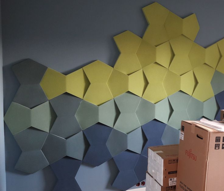 Fluffo miękkie, akustyczne panele ścienne // Fluffo soft, acoustic wall panels