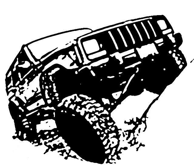 jeep stencil
