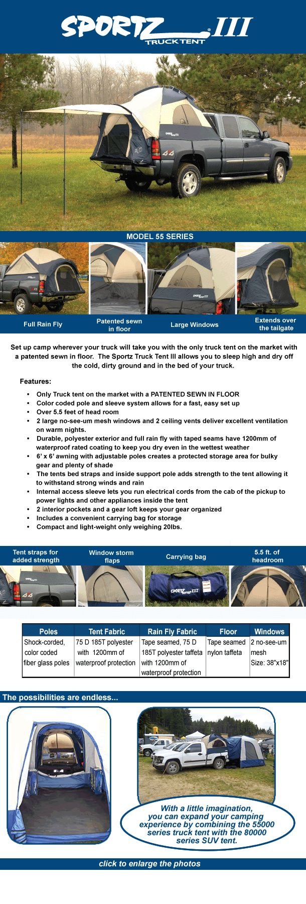 truck tent. Id like to have one...and a truck lol