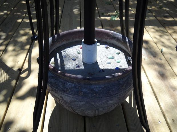 homemade umbrella stands | ... how to make sturdy umbrella stands for under $ 15 we recently added