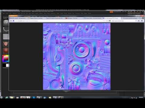 Baking Normal Map in 3ds Max from ZBrush Model - YouTube