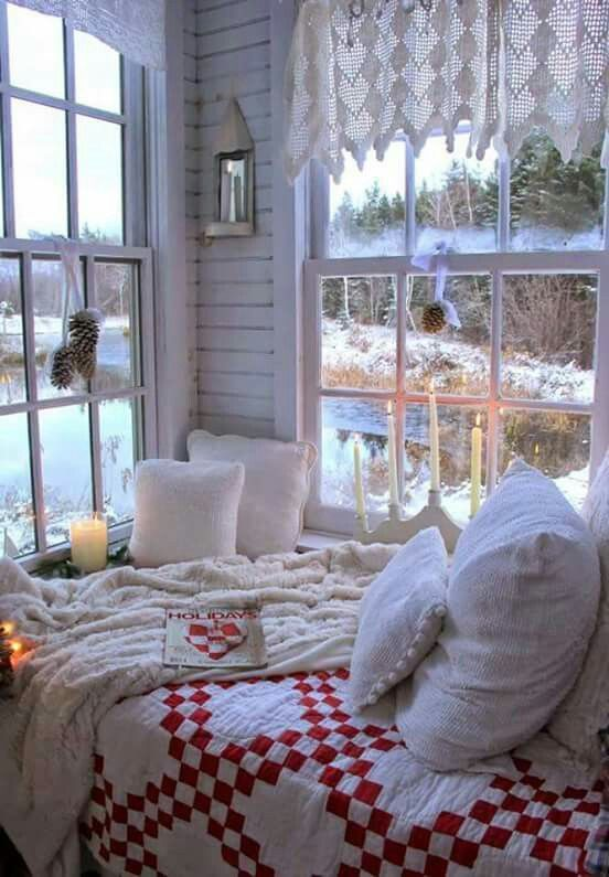 Looks so relaxing.  Love all the windows and natural light coming in.