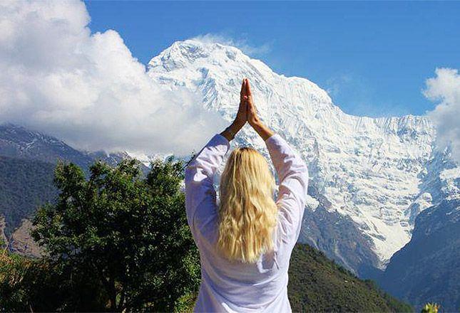 Yoga Trek - Nepal 26 Mar – 11 Apr, 2016 Full details: https://glomad.com/experience/1494