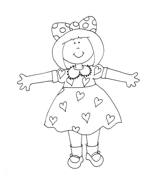 Free Dearie Dolls Digi Stamps: I Love You THIS Much!!!: