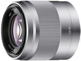 Obiective Mirorless  Sony E 50mm f/1.8 OSS - pentru Sony Nex 7, 6, 5R, 5N, 5, 3F, C3 FHS00007537 SEL50F18nbspObiectiv pentru portrete F1,8 E de 50...