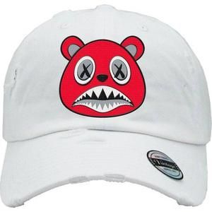 06b2149681e Baws Dad Hat Angry Baws White Dad Hat