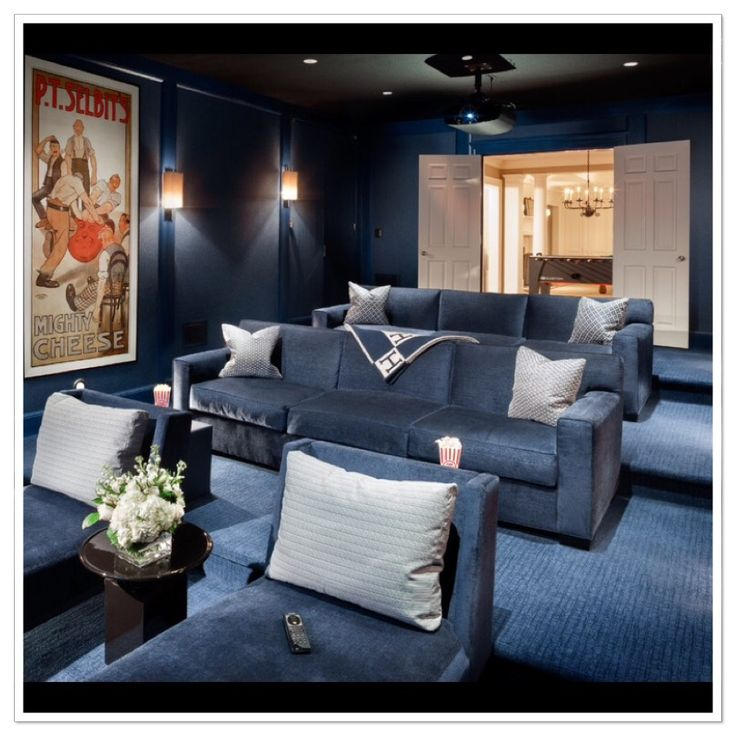 Home Theater Ideas Home Theater Paint Color