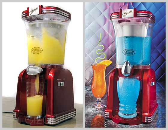 A must have for Summer! Slush making machine...retro series.