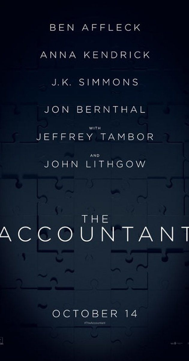 The Accountant 2016 The Accountant Movie Ben Affleck Anna Kendrick