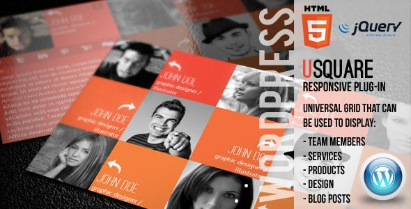 Codecanyon uSquare – Universal grid WordPress Plugin V1.6.8 free download