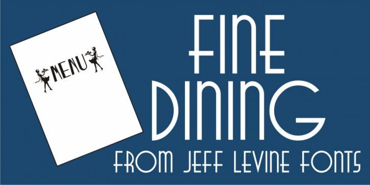 Download Fine Dining JNL Font DOWNLOAD #font #fonts #typography # ...