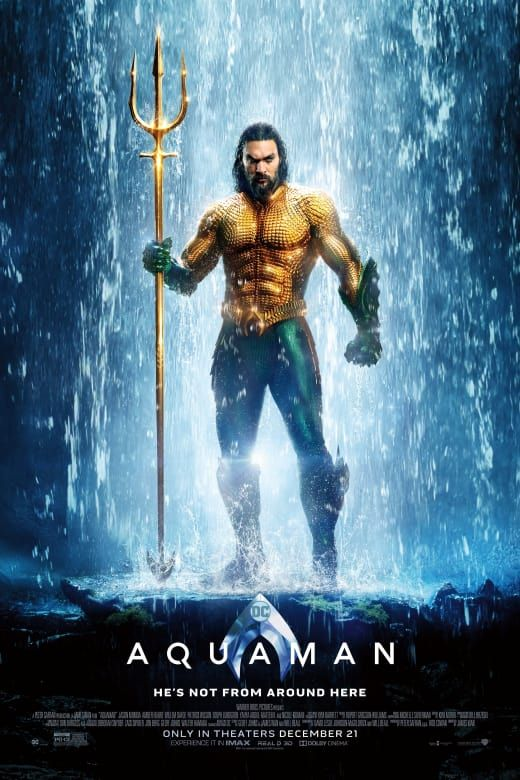 Aquaman Movie Review Movie Reviews Movie Posters Movies 2018