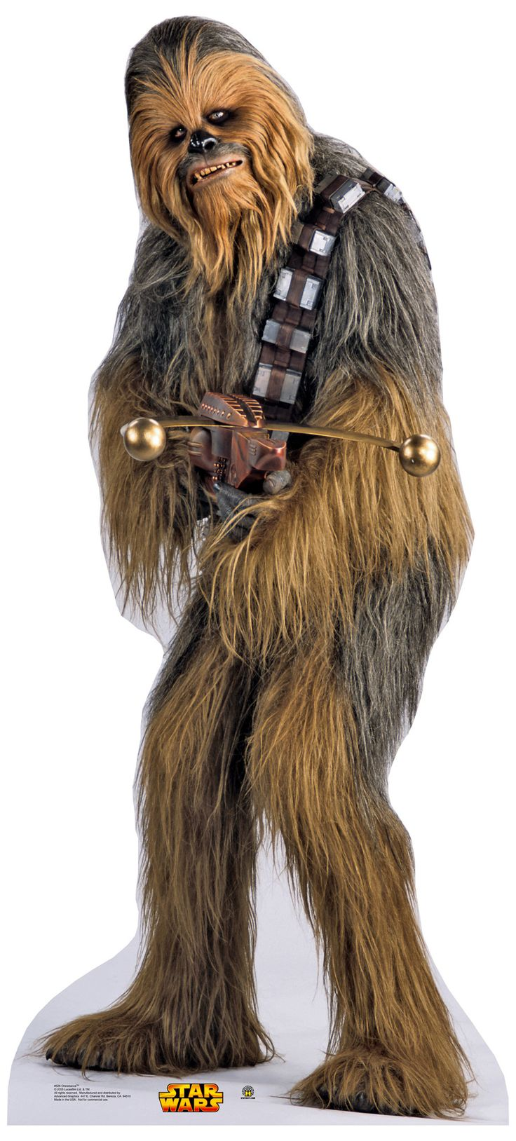 Advanced Graphics Star Wars Chewbacca Life Size Cardboard Stand Up & Reviews | Wayfair