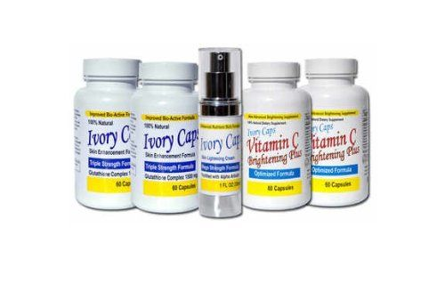 System 2 (Advanced System) Skin Whitening Lightening Support Systems Ivory Caps http://www.amazon.com/dp/B00IEC0RVI/ref=cm_sw_r_pi_dp_-nzevb11J6A0F