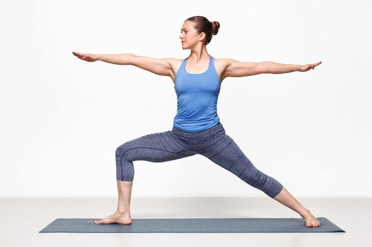 Warrior II is similar to Warrior I, except it also allows you to open to the side, stretching and elongating different areas. Try it out, and you will notice the subtle, but important difference.